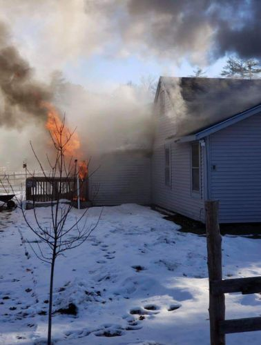 Monroe County man charged with arson after setting his own house on fire