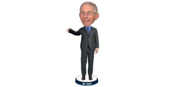 Bobblehead that honors Dr. Fauci will help raise funds for 100 Million Mask Challenge