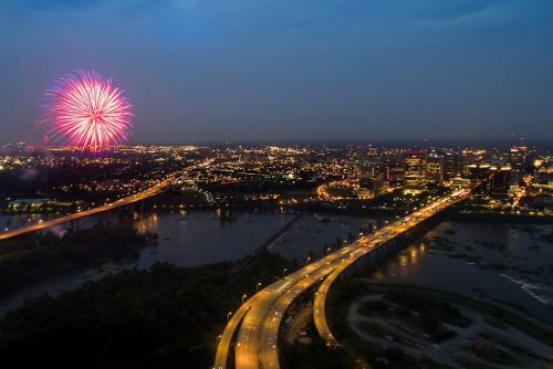 Your Guide to Virginia's Fourth of July Fireworks Shows, Festivals, and Parades