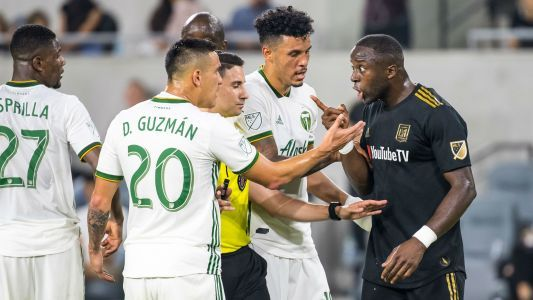 LAFC player's claim of racial slur probed by Portland Timbers, others