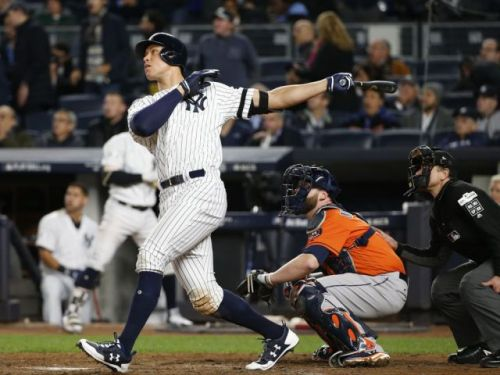 Yankees tie ALCS with late-inning comeback in Game 4 against Astros
