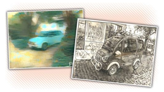This AI Image-Style Tool Is A Fun Way To Play With Your Car Pics