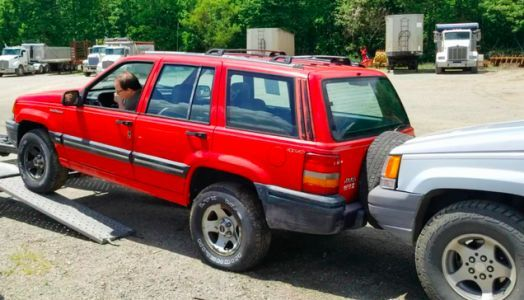 Buying A $250 Jeep, Jerry-Rigging A Nissan Pao's Suspension With Tape, Fixing A 1969 Ford Mustang: My Weekend Was Weird