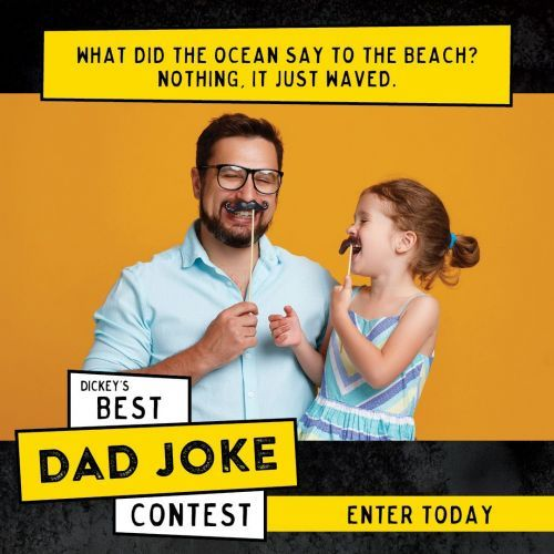 Dickey's Barbecue Pit Hosts Best Dad Joke Contest in Celebration of Father's Day