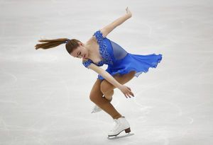 Zagitova takes lead at European Figure Skating Championships