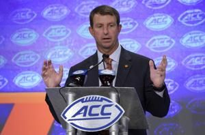 Clemson dominates preseason all-ACC team