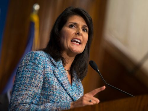 Nikki Haley shares the story behind her infamous 'With all due respect, I don't get confused' clap back
