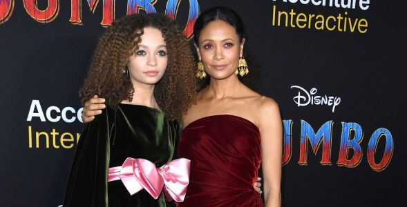 Thandie Newton is Giving Us All the Goddess Stage Mom Vibes in Oscar de la Renta