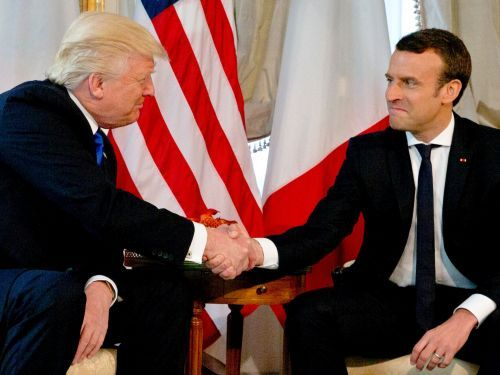 Inside the tumultuous relationship between Donald Trump and French President Emmanuel Macron