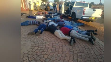 5 killed, dozens of firearms seized in hostage situation & violent shootout at South African church