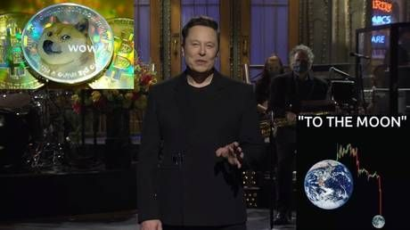 'It's a hustle': Elon Musk DESTROYS Dogecoin as he brings crypto memes to his episode of SNL