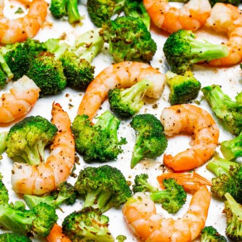 Lemon Butter Shrimp & Broccoli