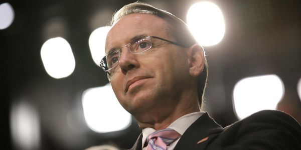If Rod Rosenstein is on his way out, exactly how it goes down could have major consequences for how Trump can proceed