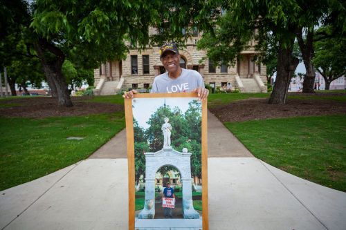 One man's 21-year protest to take down a Confederate monument - and force his Texas town to face its racist legacy