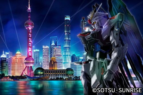 A Life-Size Freedom Gundam Statue to Be Built in Shanghai
