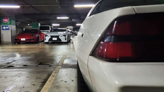 When Typhoons Hit Japan, Its Cool Cars Go To The Mall