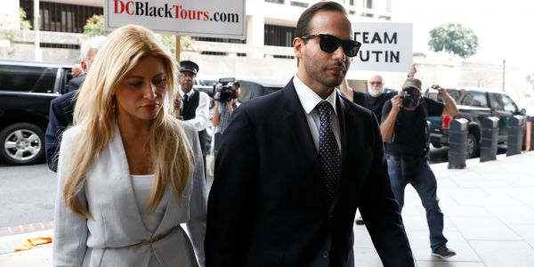 Former Trump campaign aide George Papadopoulos is asking Trump for a pardon over a year after he pleaded guilty to lying to the FBI