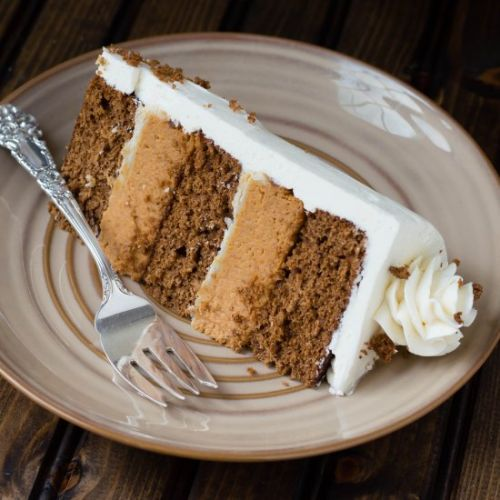 Ginger Spiced Pumpkin Pie Cake