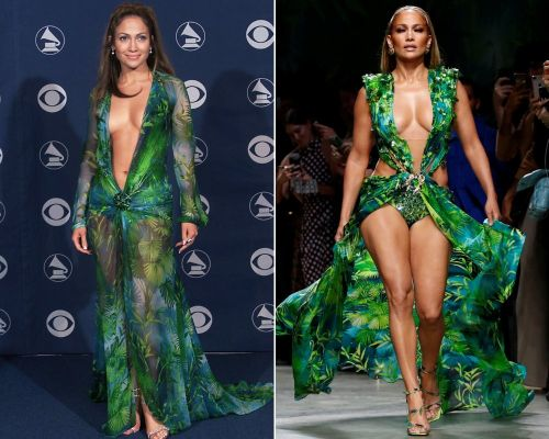 Jennifer Lopez says wearing her iconic Versace dress again 'was such an empowering thing'