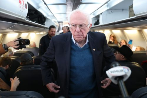 Bernie Sanders slammed American Airlines for its decision to start selling middle seats again during the pandemic