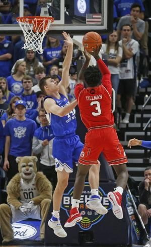 Childs' big night sparks BYU to 74-59 win over Utah