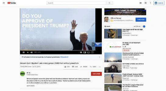 The Trump campaign accidentally gave YouTube ad money to Chinese state media
