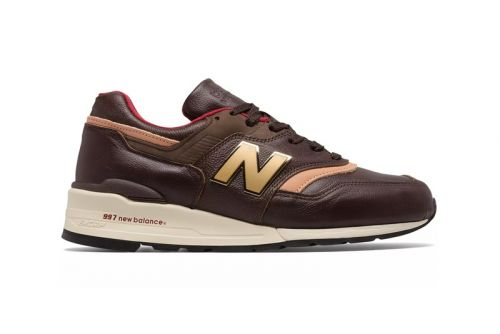 New Balance Drops Made in US 997 With Rich Brown Leather and Metal