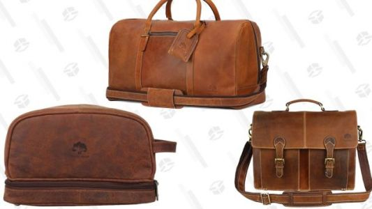 Schlep Your Stuff In Leather With This One-Day Travel Gear Sale