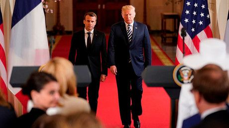 Trump boasts he changed Macron's stance on Iran deal