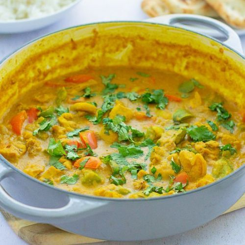 Chicken, Red Lentil & Coconut Curry