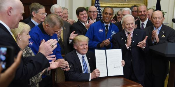 Trump wants to send humans back to the moon - here's what his administration has done to spur space exploration so far