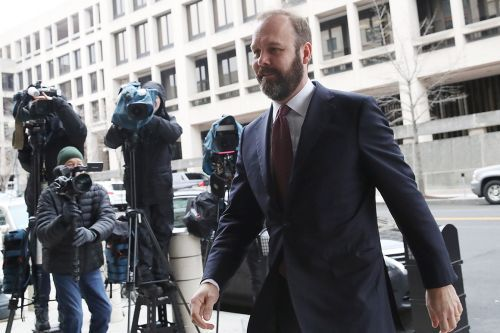 Rick Gates says he told Vin Weber and Tony Podesta that Ukraine controlled think tank