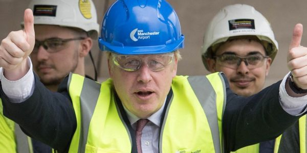 Boris Johnson's government is bringing back its plan to turn a 15-mile stretch of motorway into a Brexit contraflow system