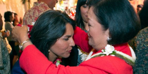 'I wish her well, though': Sen. Mazie Hirono signals she will not endorse fellow Hawaiian and Democrat Tulsi Gabbard in her bid for president
