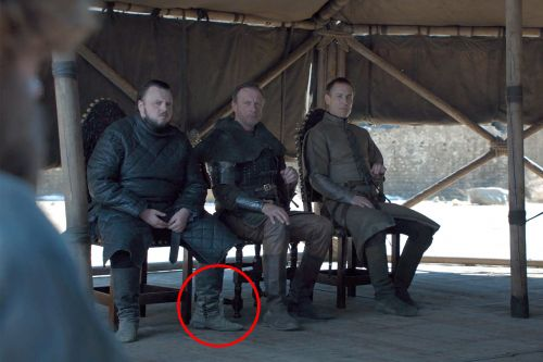 Someone left a water bottle in the 'Game of Thrones' finale