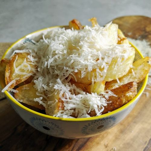 Oven Chips with Truffled Parmesan