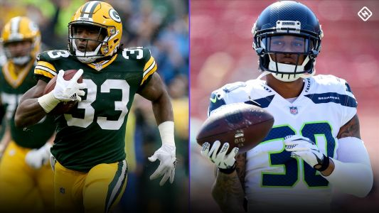 Week 3 Fantasy Busts: Aaron Jones, Chris Carson among risky 'starts' in committee situations
