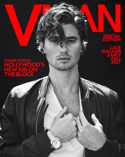 Chase Stokes Covers VMAN, Dishes on 'Outer Banks' New Season
