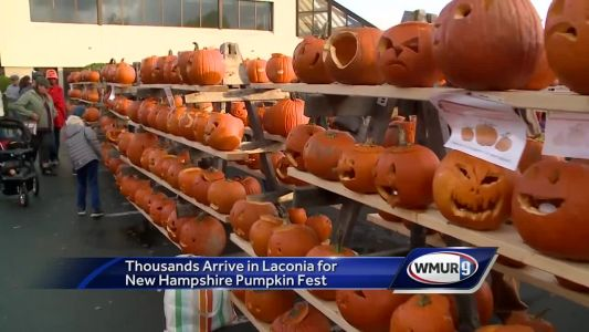 Thousands turn out for annual New Hampshire Pumpkin Festival