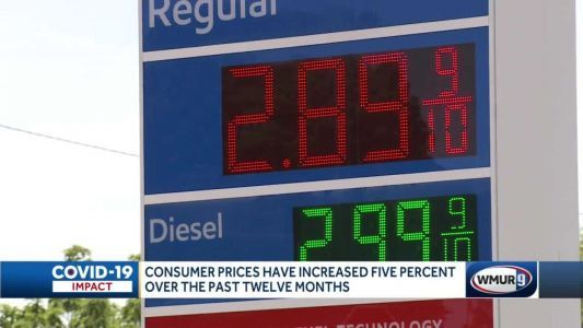 Consumer prices rise as supplies remain constrained