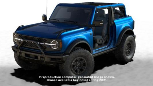 Only 7,000 New Ford Broncos Will Be Able To Get This Limited-Edition Blue Paint