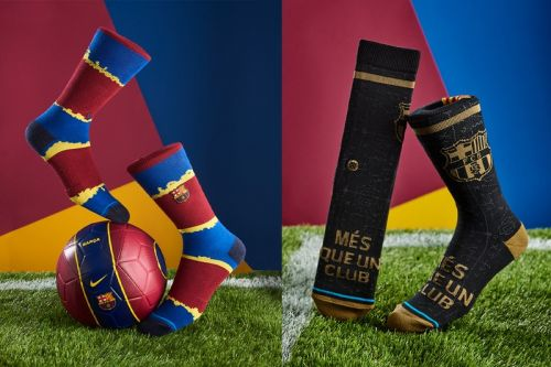 FC Barcelona and Stance Link for Limited-Edition Sock Capsule