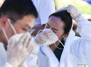 Testing proceeds rapidly in Nanjing amid new cases