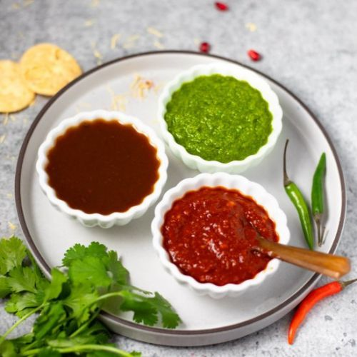 Three Indian Chutneys