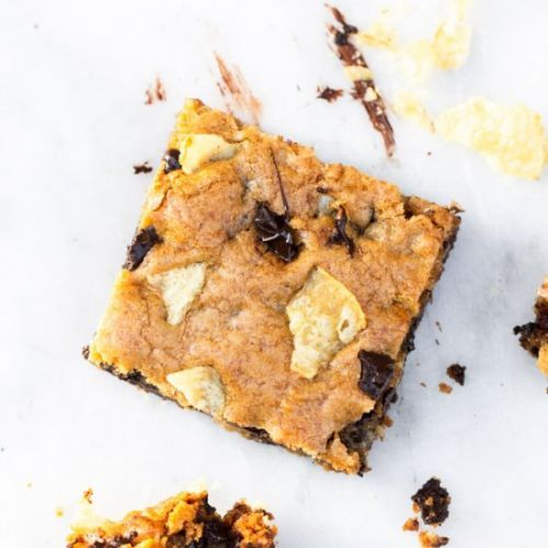 Potato Chip Chocolate Chunk Bars