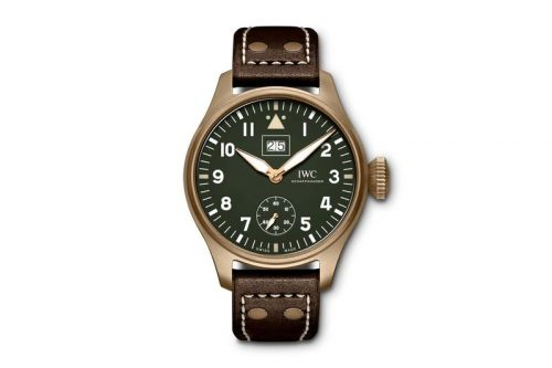 IWC Celebrates the Spitfire World Tour Accomplishment With Bronze Limited Edition