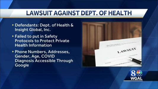 Department of Health faces lawsuit over contact-tracing data breach