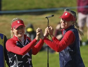 Europe holds the lead, US has the momentum in Solheim Cup