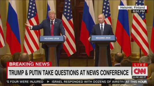 If Trump really misspoke when he defended Putin, he forgot to tell Tucker Carlson
