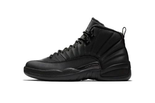 "Air Jordan 12 Receives a ""Winterized"" Makeover Before the New Year"
